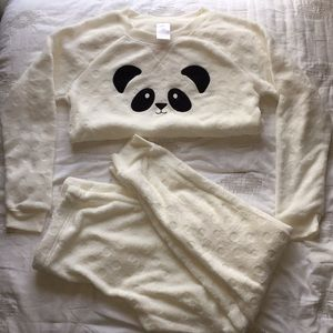 Soft pajamas with panda from Kohl's